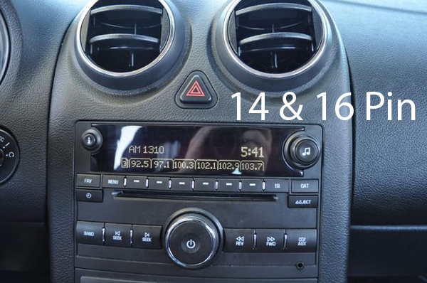 However If The Radio In Vehicle Looks Like Second Picture You Will Need To Use Os 311